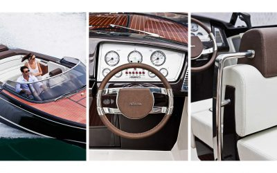 Riva Boote. Hier: Riva Iseo Details